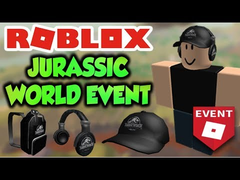 Get All Items On Jurassic World Event Roblox Event Youtube