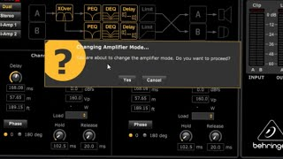 NX Series Edit PC Software for Behringer NX-6000D