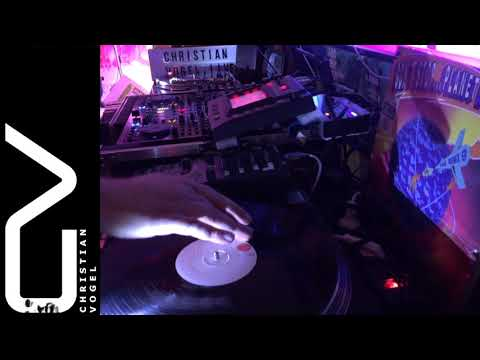 Live Session #002: Christian Vogel - Live Vinyl DJ Mix Part II (Techno Classics)