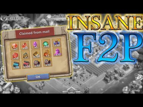 INSANE Clasher's Day F2P Events L Rewards Opening L Castle Clash