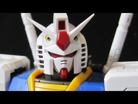 RG Gundam (Part 1: Unbox) Real Grade 1/144 RX-78-2 gunpla review