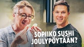 Katja Ståhlin jouluinen sushi