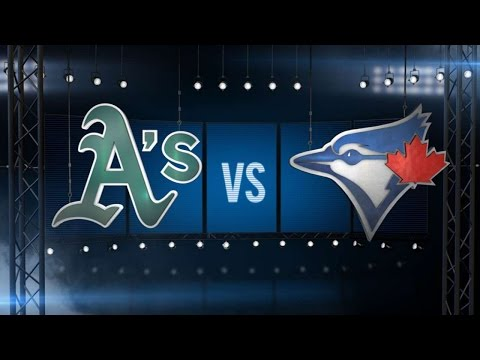 8/13/15: Blue Jays complete sweep over Athletics