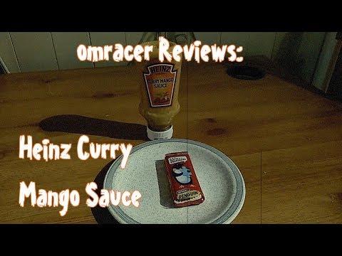 Omracer Reviews Heinz Curry Mango Sauce Youtube