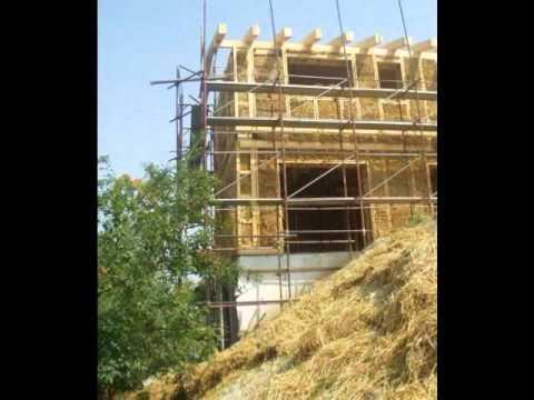 Casa di paglia costruire case con balle di paglia casa for Piani di casa di balle di paglia