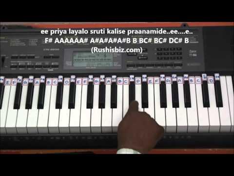 Maate Mantramu Manase Bandhamu - Piano Tutorials