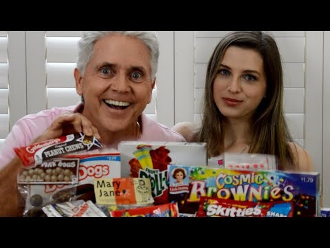 Couple Trying Snacks From Childhood (BABY BOOMER VS MILLENNIAL)