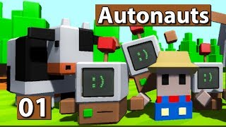 Autonauts | Factorio trifft auf Minecraft ► #01 Lets Play Autonauts deutsch german