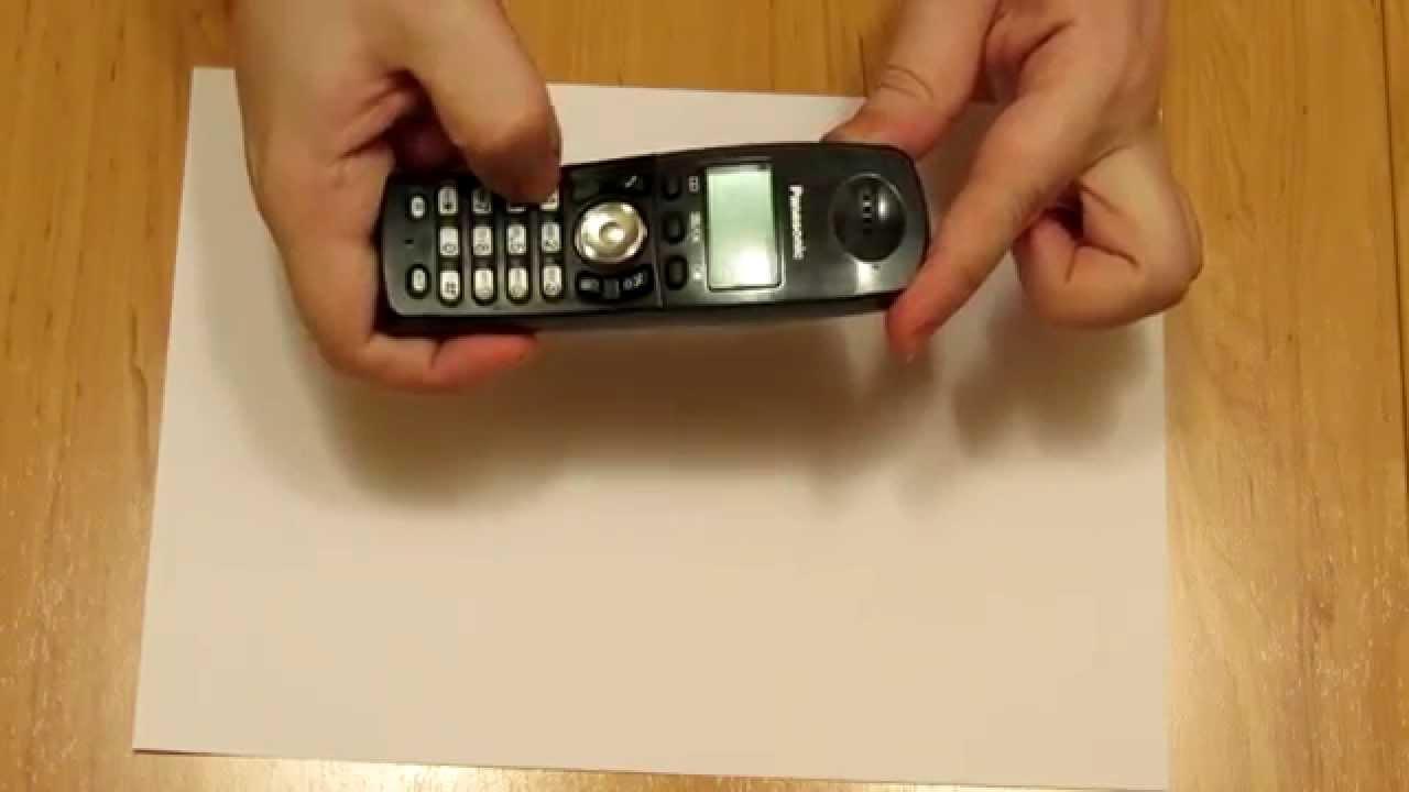 инструкцию на телефон kx t2229d