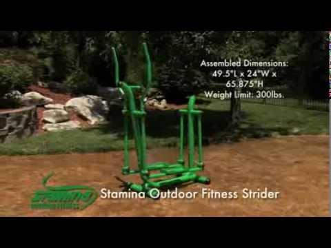 Stamina® Outdoor Fitness Strider