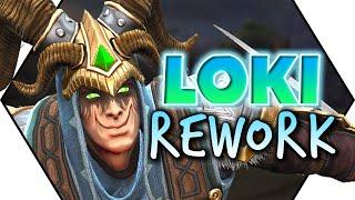 Smite: Loki Rework Confirmed! More Aoe & Teamfight, Decoy Removed!