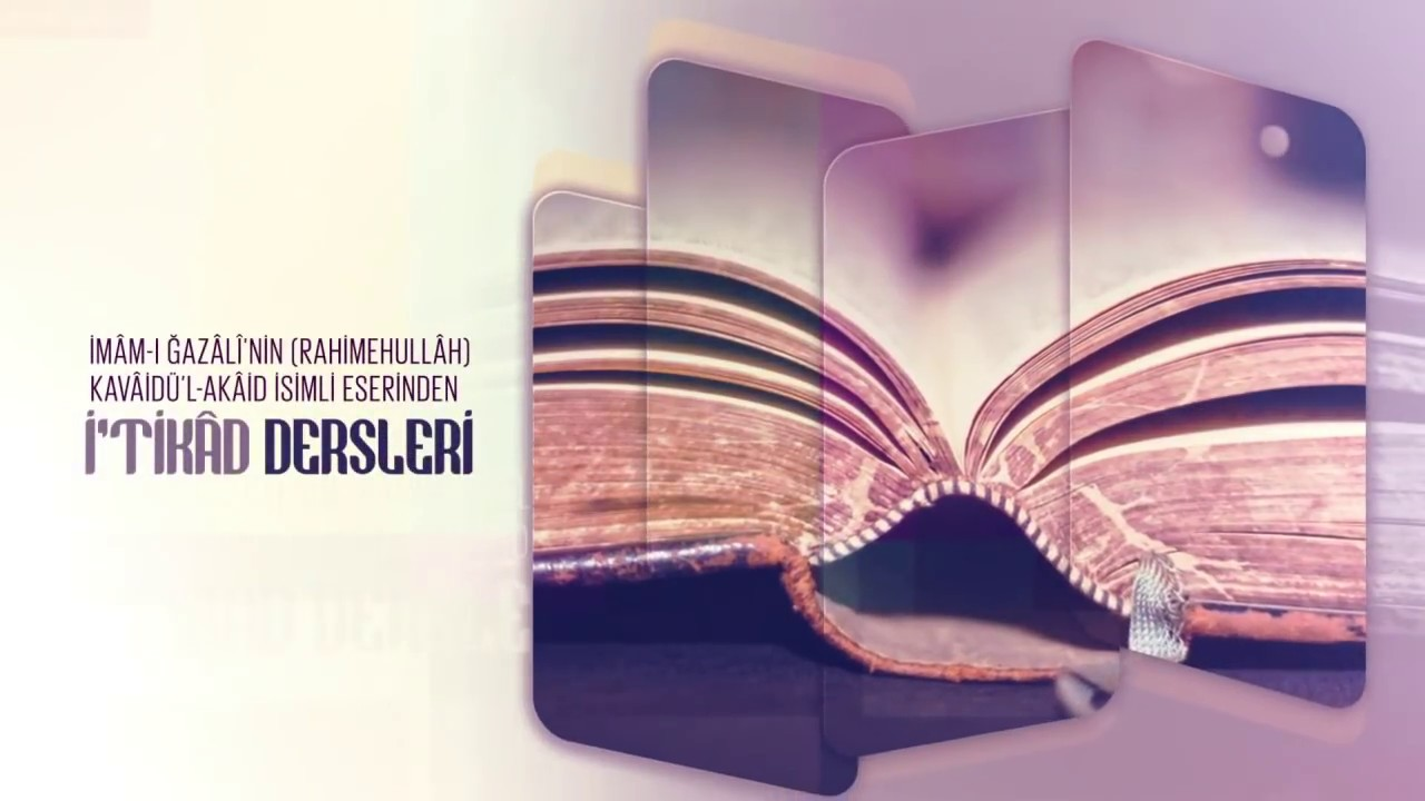Kavâidül Akâid İtikâd Dersleri 8.Bölüm 10 Ocak 2018 - Cübbeli Ahmet Hocaefendi Lâlegül TV