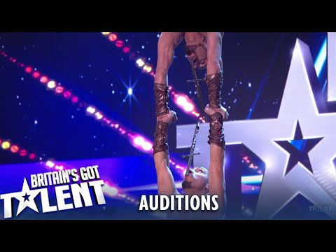 Vardanyan Brothers: Simon Wanted To STOP Dangerous Act..See What Happens! Britain's Got Talent 2019