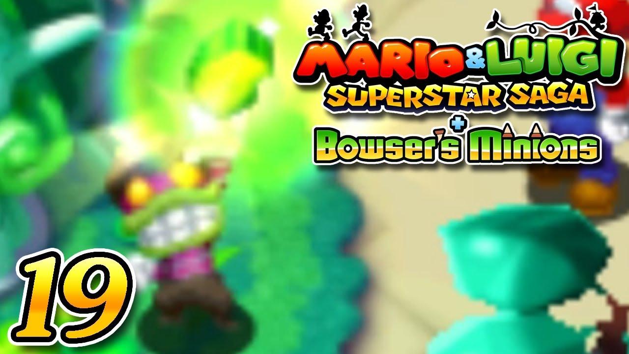 Mario Luigi Superstar Saga Bowser S Minions Part 19 Final Beanstar Pieces Popple 3ds Gameplay