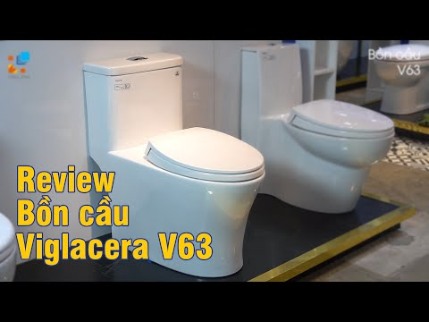 Video Bồn cầu 1 khối Viglacera V63