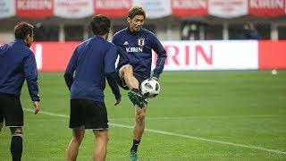 【日本代表活動日記】10/11 大迫勇也「ワールドカップの悔しさをエネルギーに変えて4年後に向けて再出発したい」