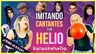 Baixar Imitando cantantes con HELIO | Gret canta con HELIO CHALLENGE | Gret Rocha y  Rick Loera