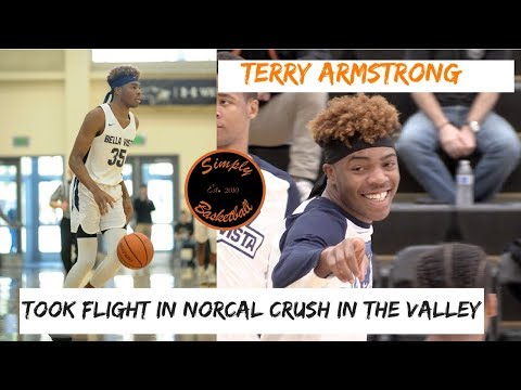 6'6 Terry Armstrong Took Flight in Norcal I Athletic Guard With 10+ D1 Offers