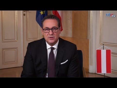 """Vizekanzler HC Strache: """"Wir kümmern uns um Österreich!"""""""