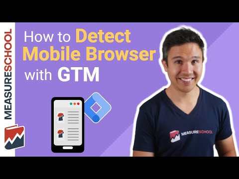 Detect Mobile Browsers With Google Tag Manager