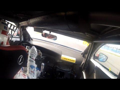 Dunlop MSA BTCC - Donington Park pole position lap with Jason Plato