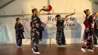 Sakura (Cherry Blossoms) Dance by Sho-Jo-Ji Japanese Dancers