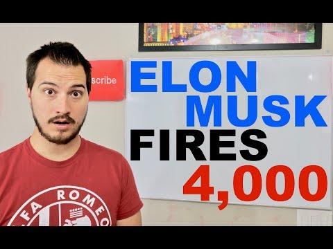 Elon Musk FIRES 4,000 Tesla Workers!
