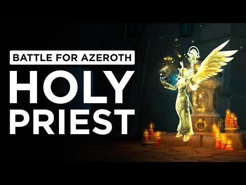 Oh, Apotheosis. DIVINE Talent Updates! Holy Priest | WoW: Battle for Azeroth - Beta [2nd Pass]