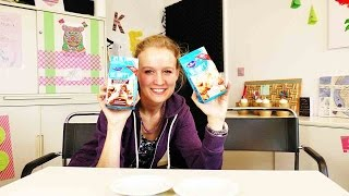 "DIY Inspiration Snack Test: Bahlsen Kekse ""Be Happy"" Mini Kekse & Mini Kakaokekse 