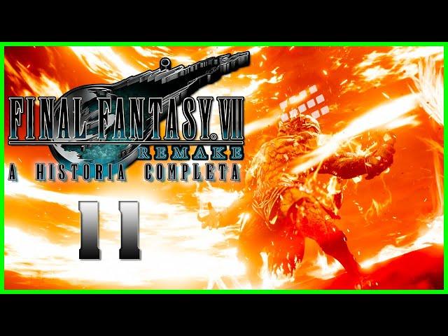 Final Fantasy VII Remake : A Historia Completa - Parte 11 - CAPSLOCK