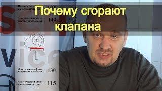 видео регулировка зазоров клапанов