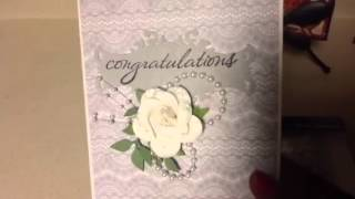 My First Wedding Card