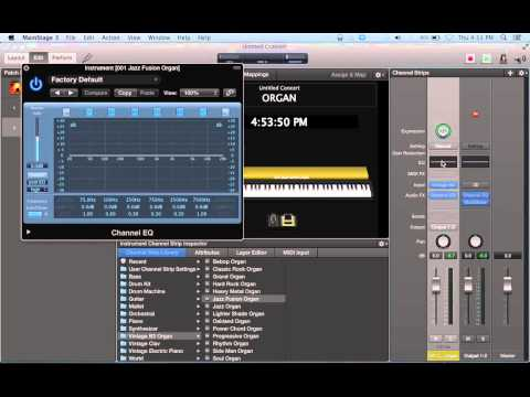 Intro to Mainstage 3 for Live Keyboard Rig