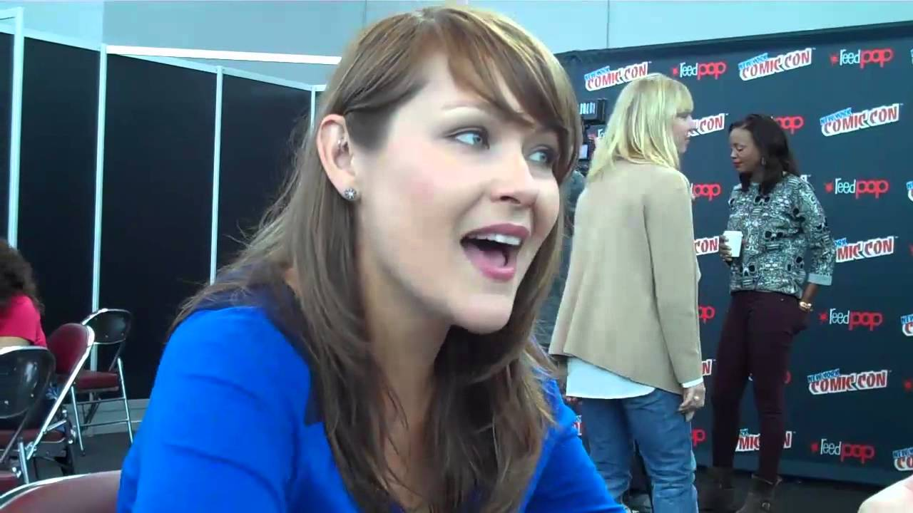 Amber nash at new york comic con 2013 youtube