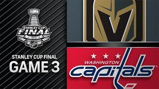 Vegas Golden Knights vs Washington Capitals – Jun.02, 2018 | Final | Game 3 | Stanley Cup 2018.Обзор