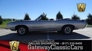1969 Pontiac GTO Convertible #423-DFW Gateway Classic Cars of Dallas