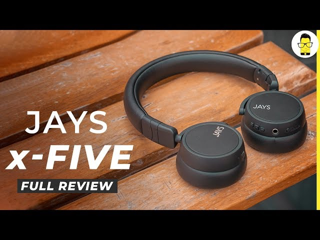 The best Bluetooth headphones under Rs 5000: Jays x-Five review