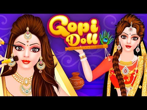 Gopi Doll Fashion Salon Game