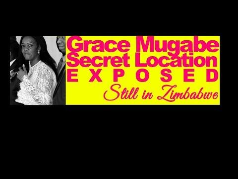 LATEST, Grace Mugabe Secret Location Exposed by son