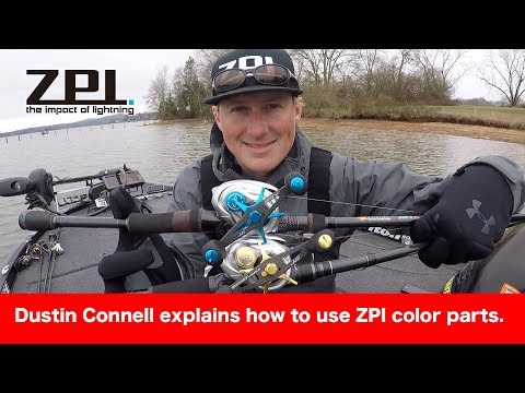 BASS Elite Series Pro Dustin Connell explains how to use ZPI color parts.