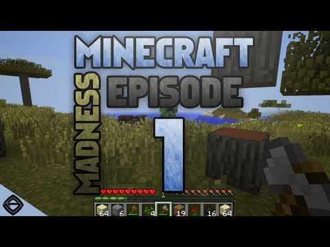 Minecraft Madness! - Episode #1 (WELCOME)