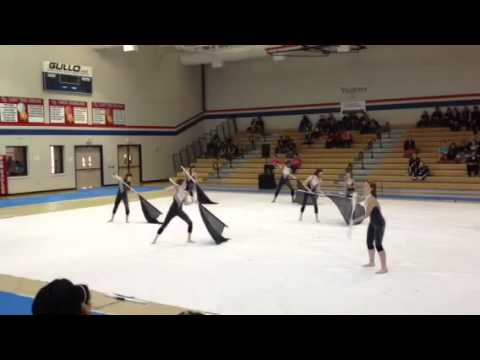 Tomball high school winter guard  3/9/2013