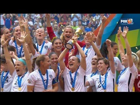 Team USA Beats Japan in Women's World Cup Final