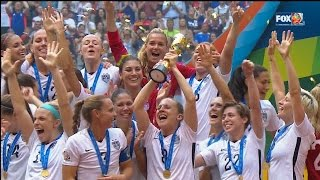 Team USA Beats Japan in Women's World Cup Final