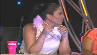 Katia Palma coquetea con imitador de Nicky Jam