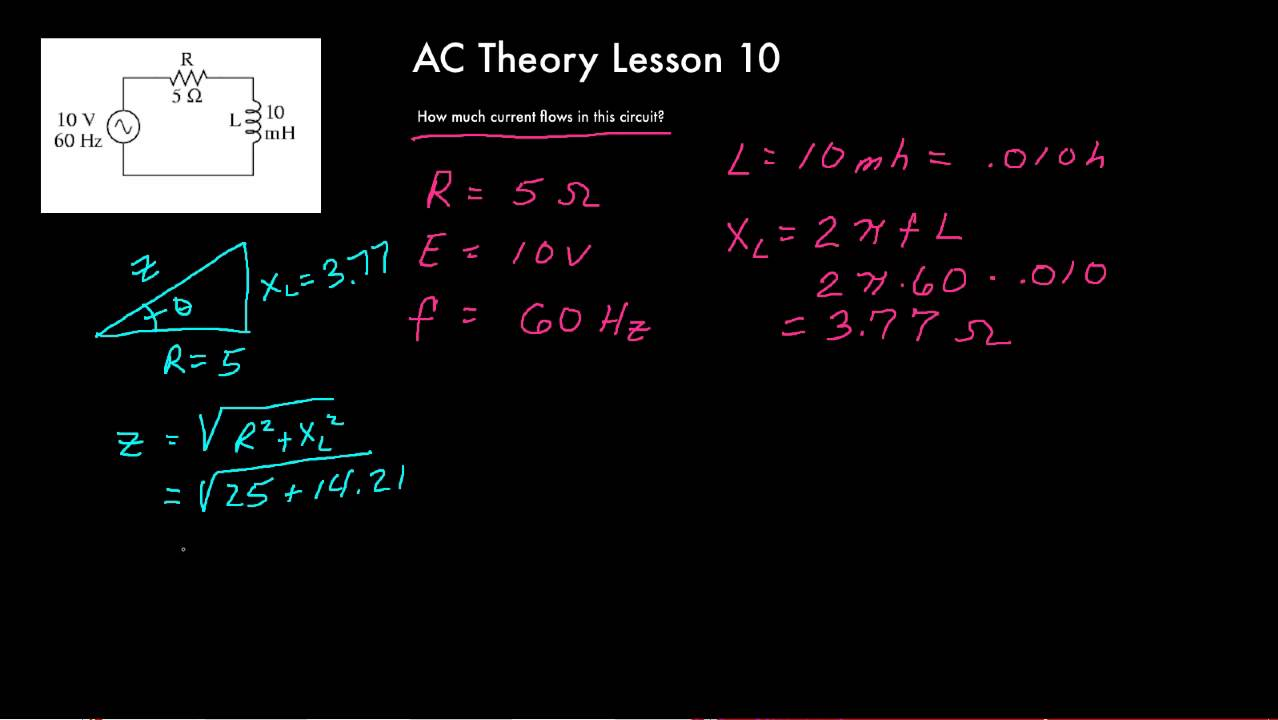 Workbooks njatc workbook answers : AC Theory Lesson 10 - YouTube