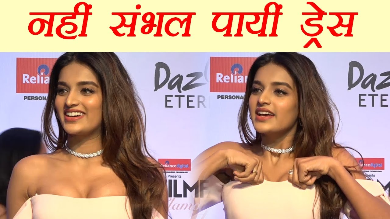 Download Nidhhi Agerwal faces WARDROBE MALFUNCTION during an event; Watch Video | Boldsky