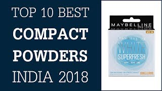 Best Compact Powder In India 2018 - Compact Powder For Dry, Dark & Oily Skin