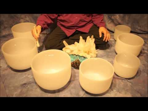 Note D Crystal Bowl Meditation~(10 min.)