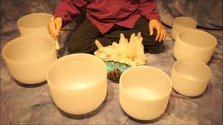 Note D Crystal Bowl Meditation~(10 min.)